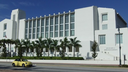 Alto Lee Adams Sr US Federal Couthouse Fort Pierce FL